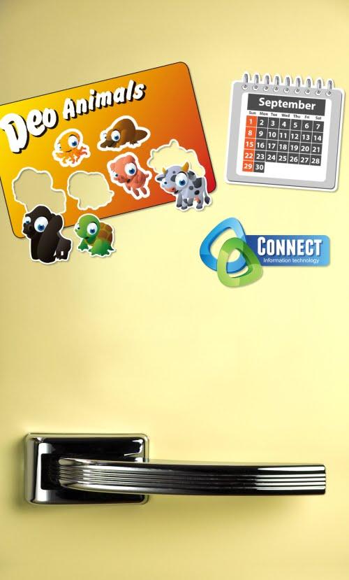 Fridge Magnet mailing nuetraal