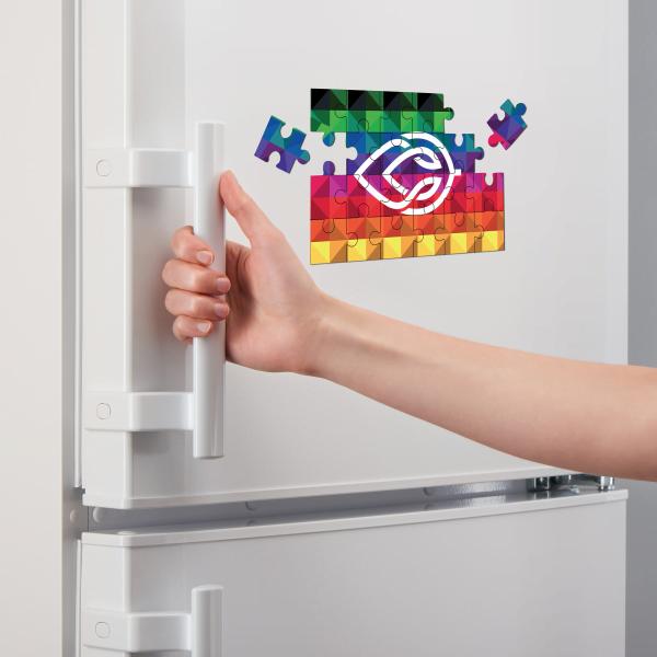 Magnet Puzzel Kleuren koelkast