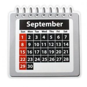 Magnetic Foil Kalender Boven