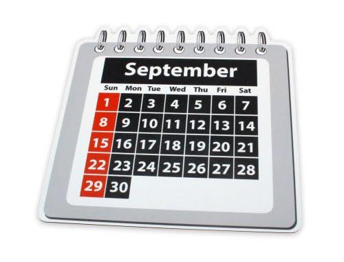 Magnetic Foil Kalender Perspectief