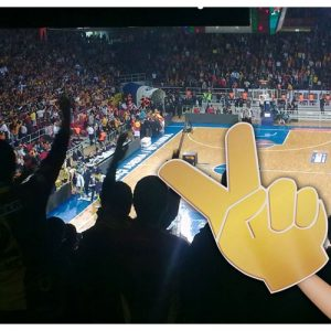 cheering hand 2