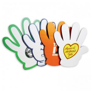 cheering hand 4