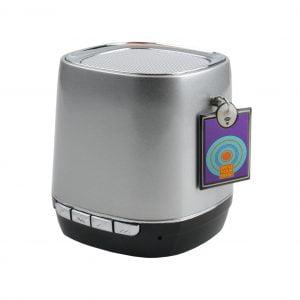 jingle speaker silver