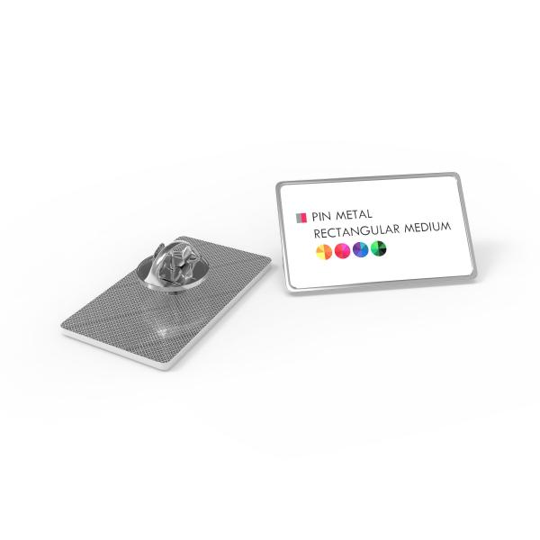 pin metal rectangular medium primary