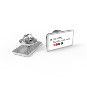 pin metal rectangular small primary