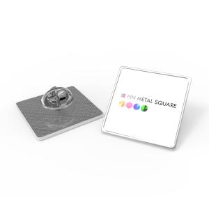 pin metal square primary