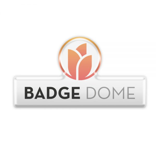 tulip badge dome6