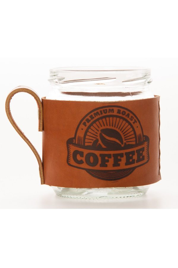Canberra Coffee Deri Mug Kahverengi e94f