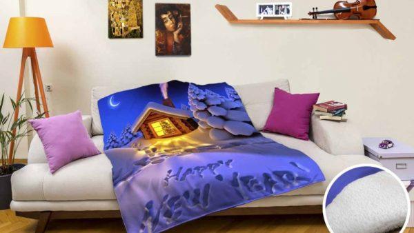 Digital Printed Polar Fleece Double Layer Blankets 6