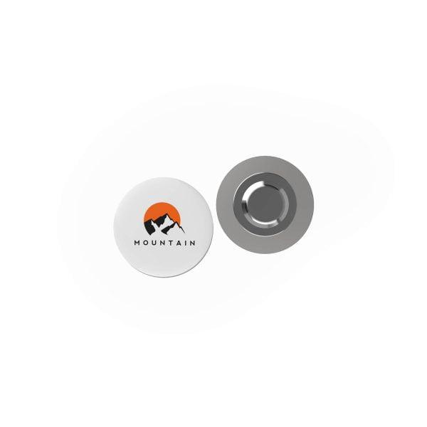 badge megan metal rond magneet