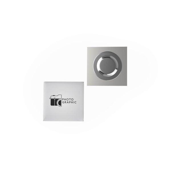 badge megan metal vierkant magneet