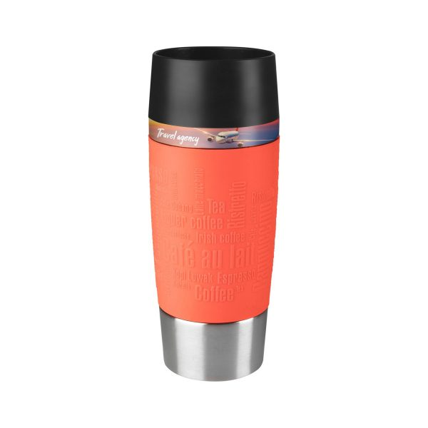 Tefal Travel Mug RedPeach
